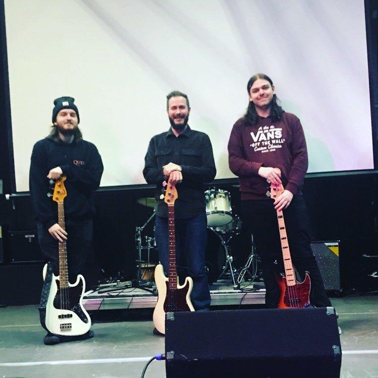Bass masterclass Newcastle College